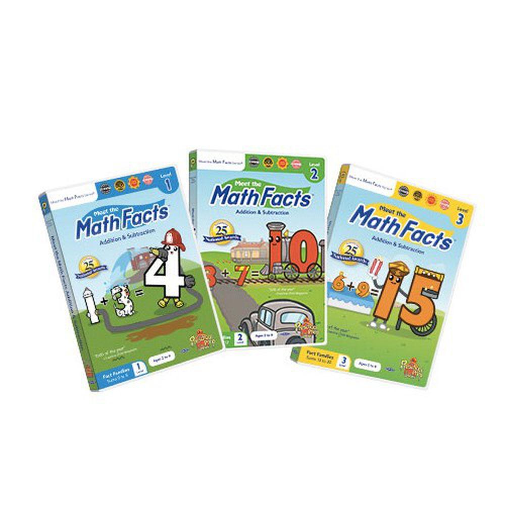 Preschool Prep - Math DVD-3片