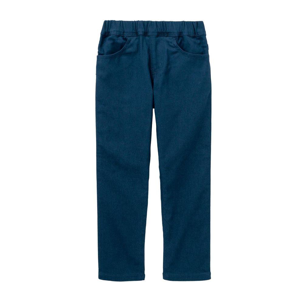 日本千趣會 - GITA 高彈性好動直筒口袋長褲-深藍