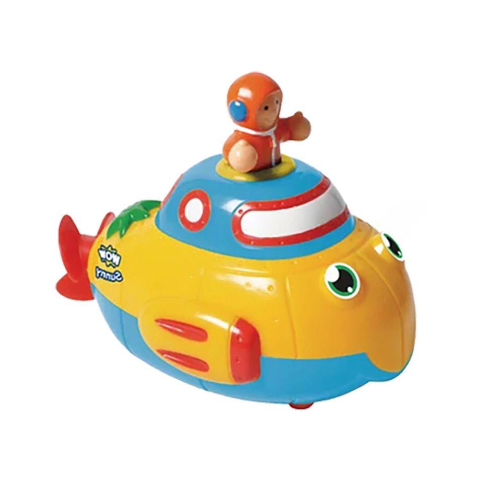 英國驚奇玩具 WOW Toys - 超級潛水艇 桑尼,水陸兩用