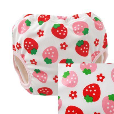超強吸力六層學習褲(兩回尿量)-草莓
