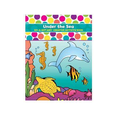 美國 Do A Dot Art - 點點畫冊-海洋生態-16頁