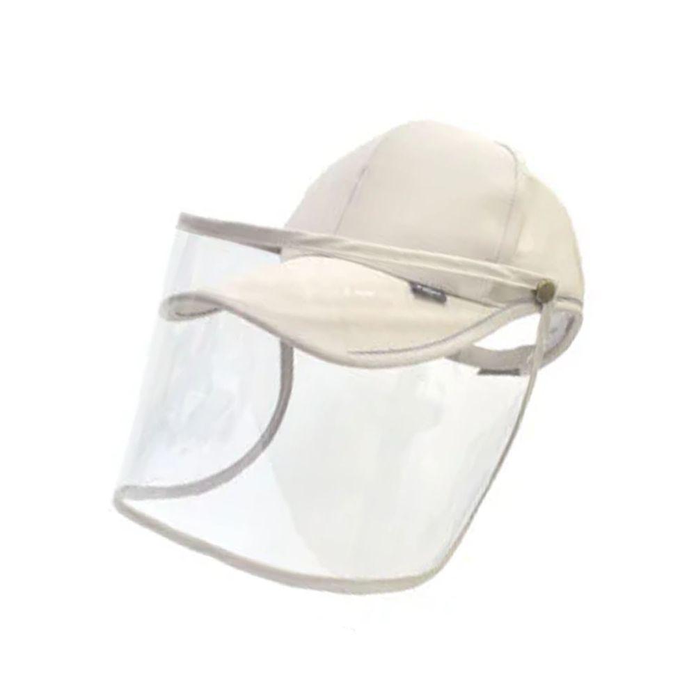 貝柔 Peilou - UPF50+多功能防疫遮陽鴨舌帽-卡其 (頭圍: 59cm)