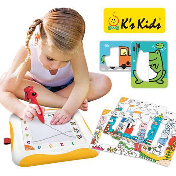 史上最好玩!新版第二代 K's Kids 磁性畫板