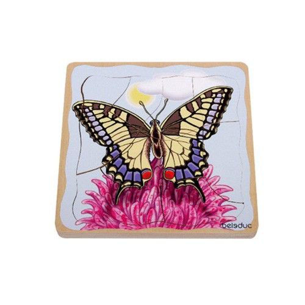 Beleduc - 多層拼圖-蝴蝶