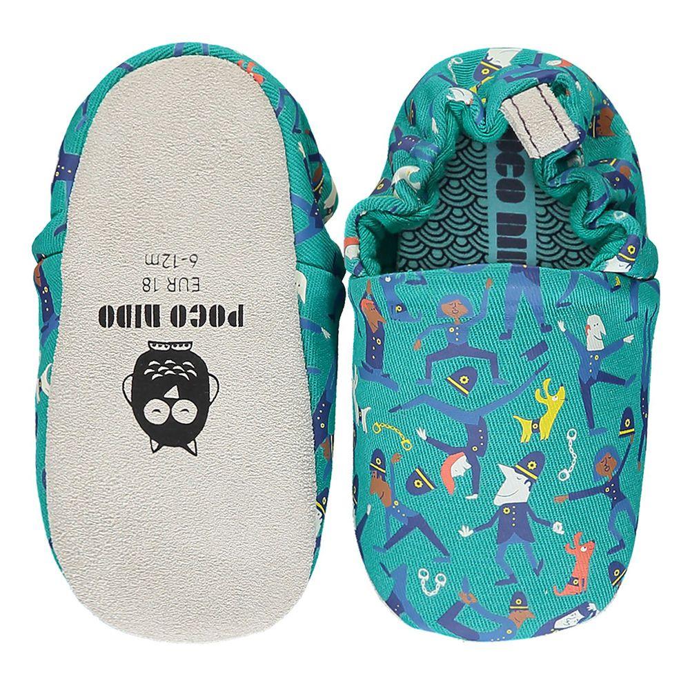 英國 Poconido - 寶寶手工鞋/學步鞋-做瑜珈的波麗士
