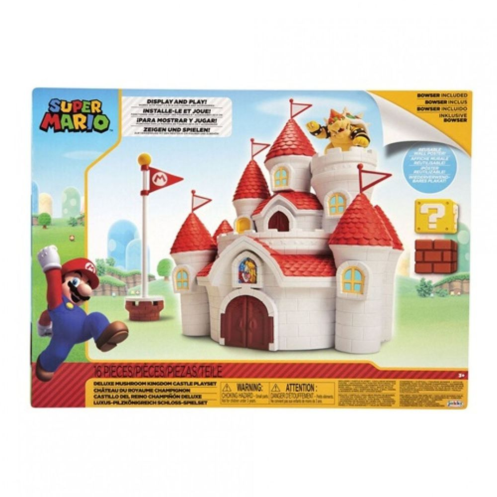 超級瑪利歐 - 超級瑪利歐 2.5吋蘑菇王國城堡