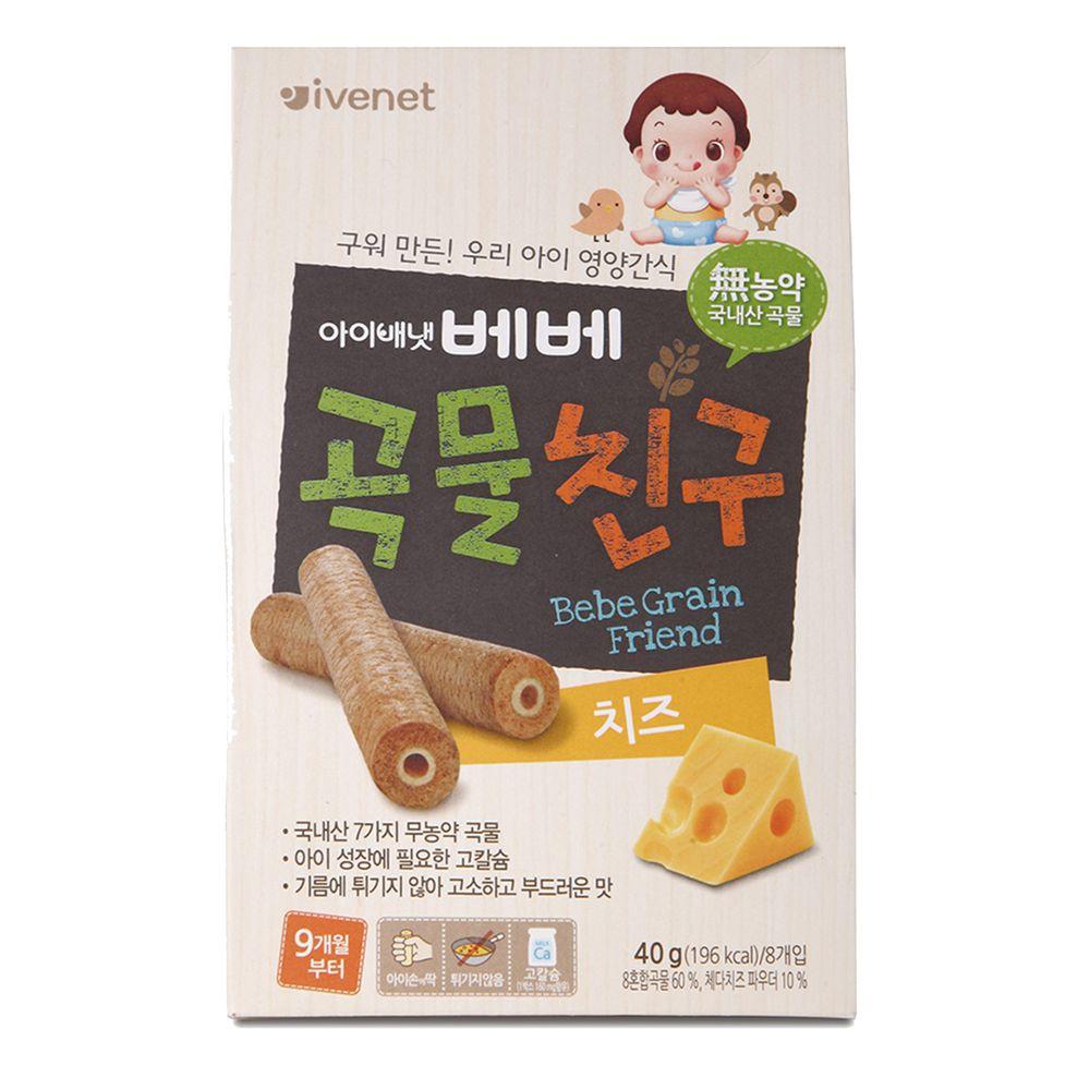 ivenet - 艾唯倪穀物棒棒(起司乳酪)40g_9M以上