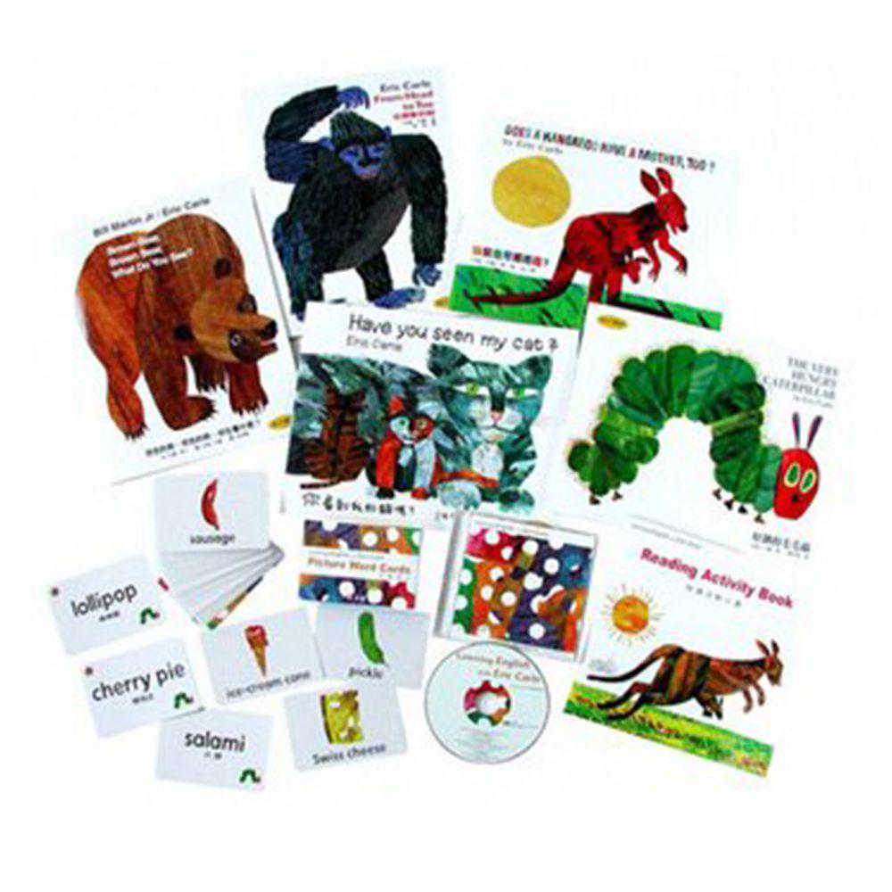 我會讀英文遊戲寶盒-套書