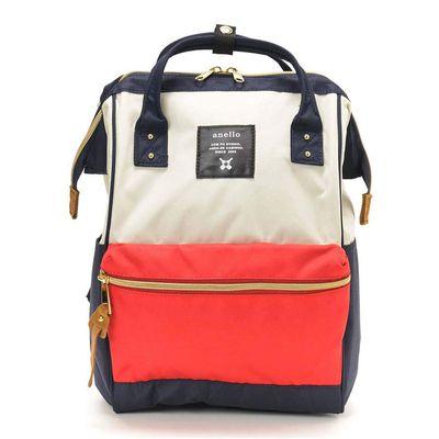 日本 Anello - 日本大開口牛津布後背包-mini小尺寸-F法蘭斯