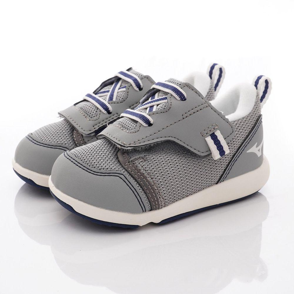 MIZUNO 美津濃 - 超輕量大絆帶機能鞋款(寶寶段)-灰