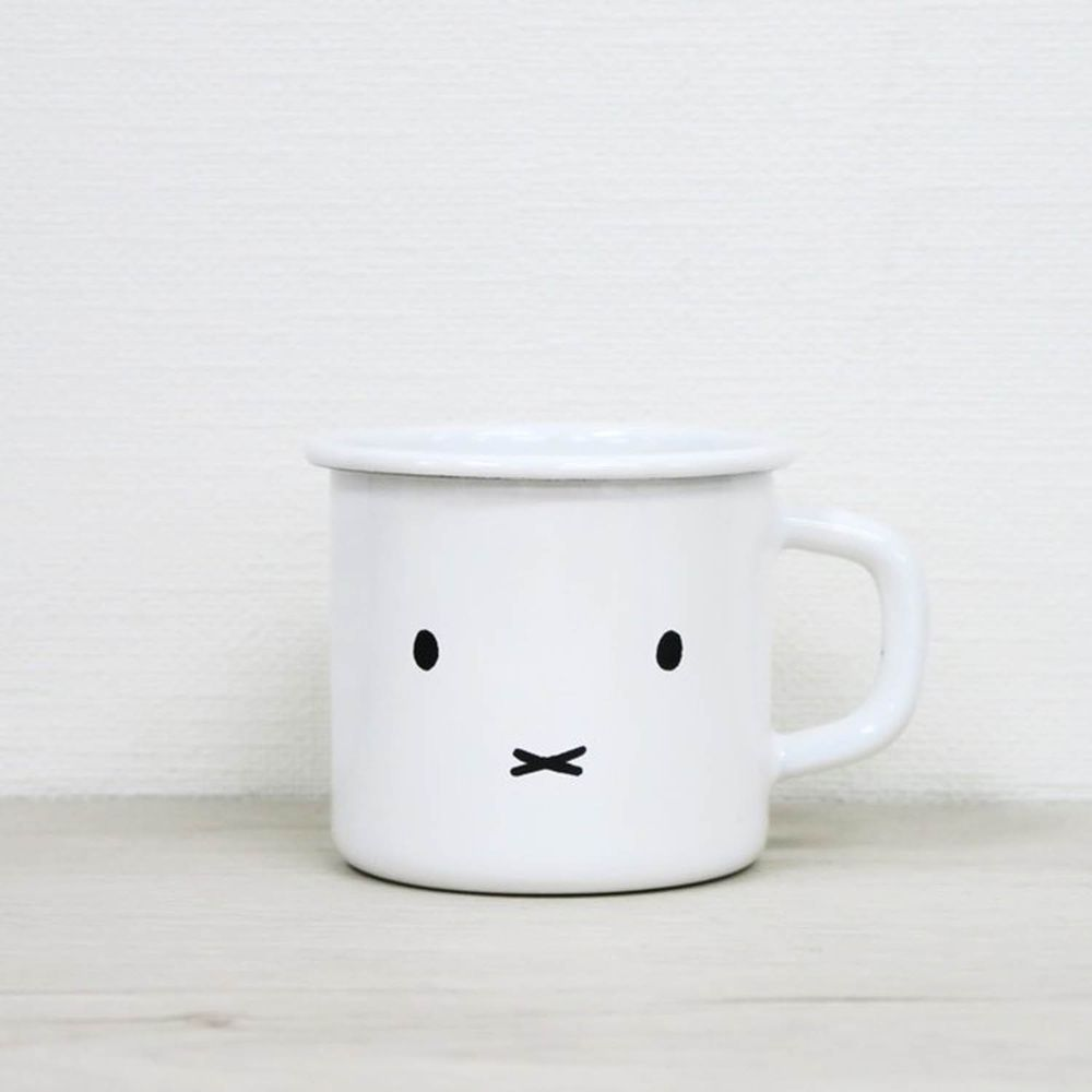 FUJIHORO 富士琺瑯 - 米菲兔系列-7cm琺瑯馬克杯-MG.1-容量:0.27L 重量:0.16kg