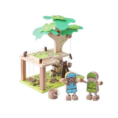 QPACK主題樂園-樹屋
