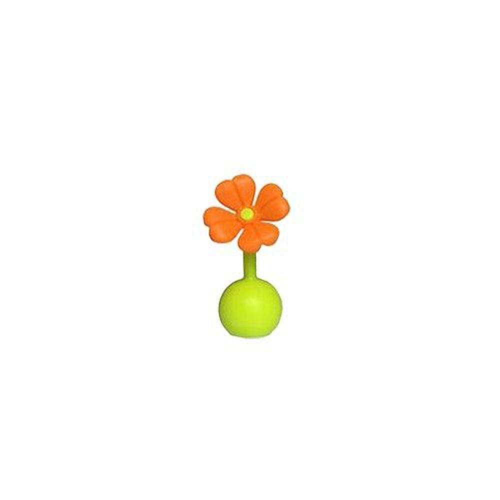 紐西蘭 HaaKaa - 第三代專利多功能哺乳系列-小花瓶塞配件-橘色-可通用第二代真空吸力集乳器