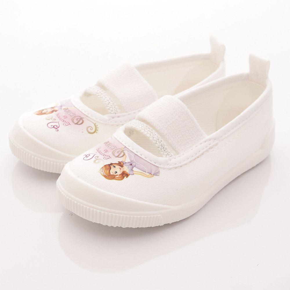 Moonstar日本月星 - 日本月星機能童鞋-日本製蘇菲亞室內鞋防潑水版(中小童段)-白