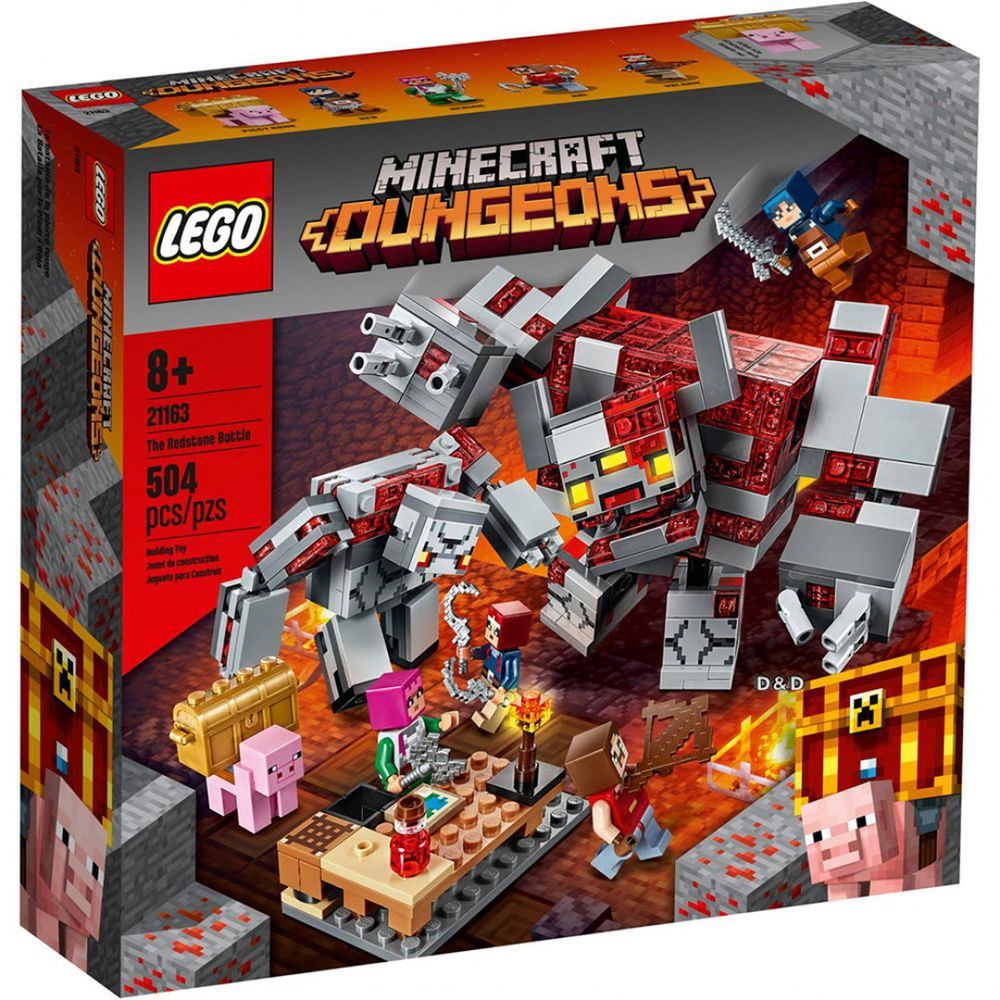樂高 LEGO - 樂高積木 LEGO《 LT21163 》Minecraft 系列 - The Redstone Battle-504pcs