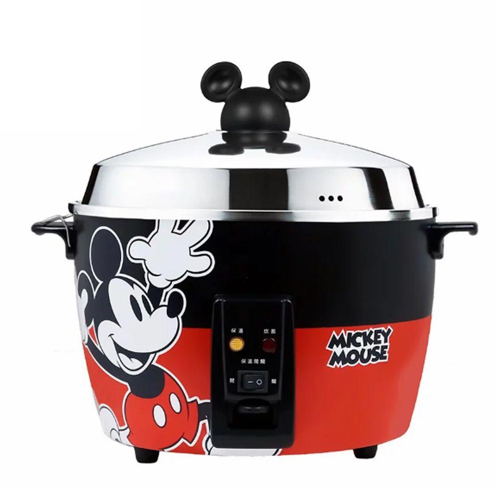 迪士尼 - 米奇系列304不鏽鋼11人份電鍋-經典紅