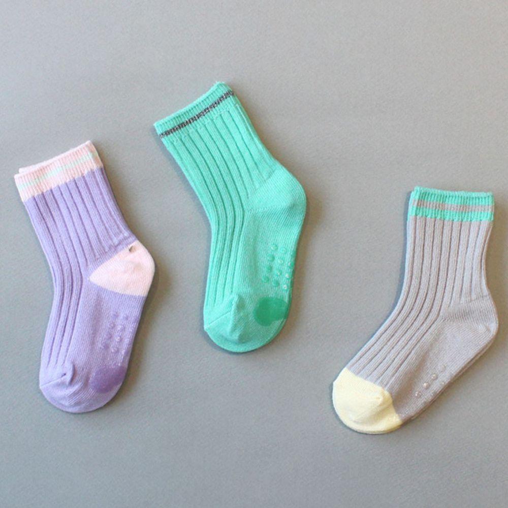 韓國 Kokacharm - 韓國製踝襪-三件組-TE AMO