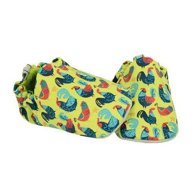 寶寶手工鞋-小公雞