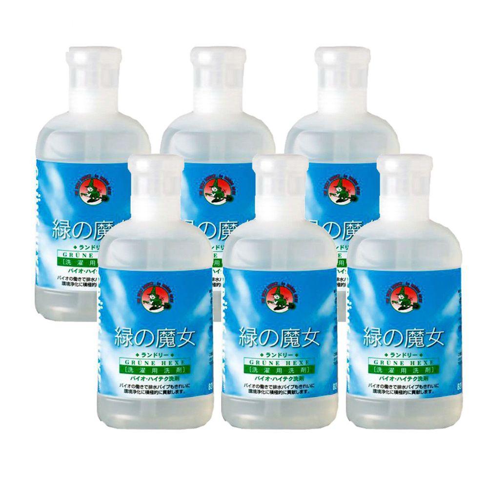 日本綠魔女 - 衣物環保洗劑-820ml x 6入