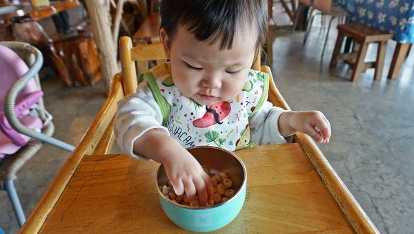 美國Kangovou 小袋鼠不鏽鋼安全兒童餐具