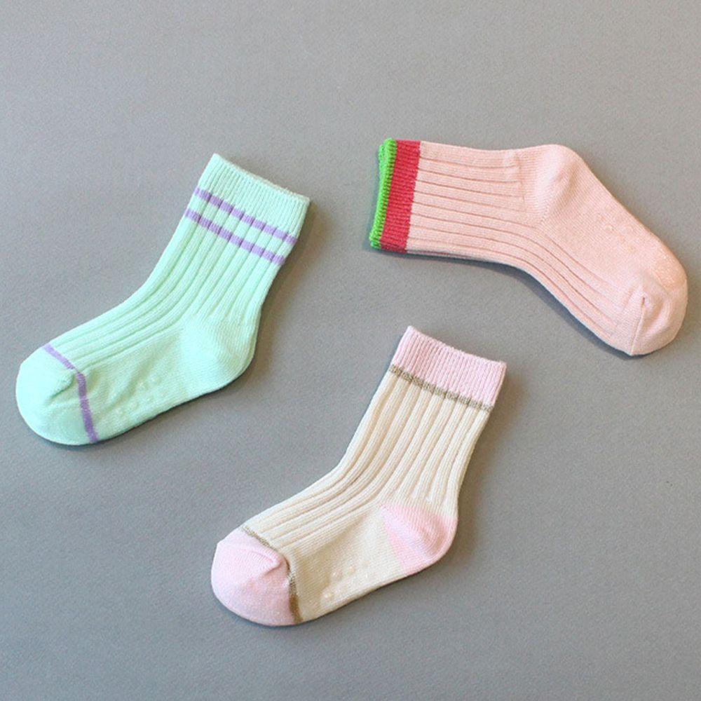 韓國 Kokacharm - 韓國製踝襪-三件組-JE T'AIME