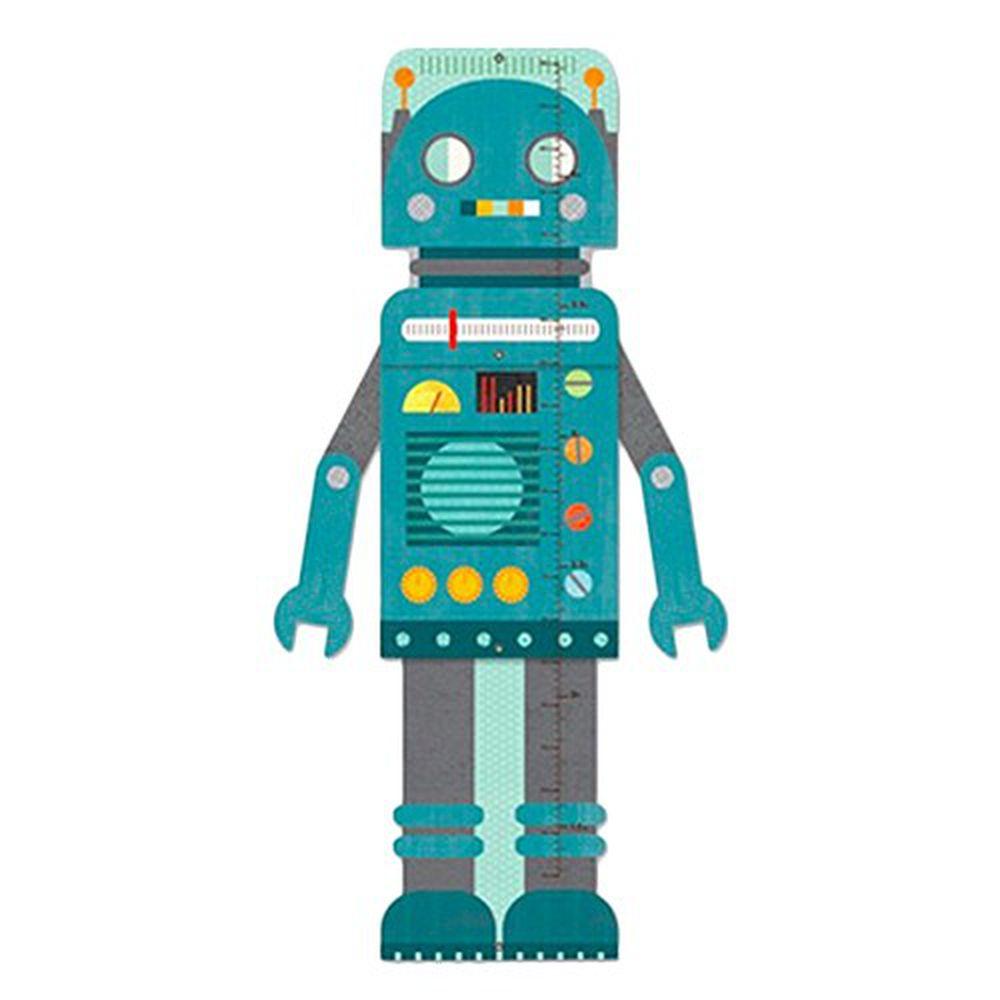 美國 Petit Collage - 成長尺-機器人
