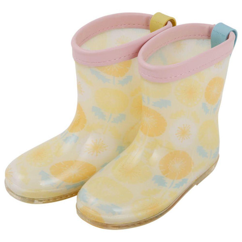 日本 kukka hippo - 小童雨鞋-蒲公英花
