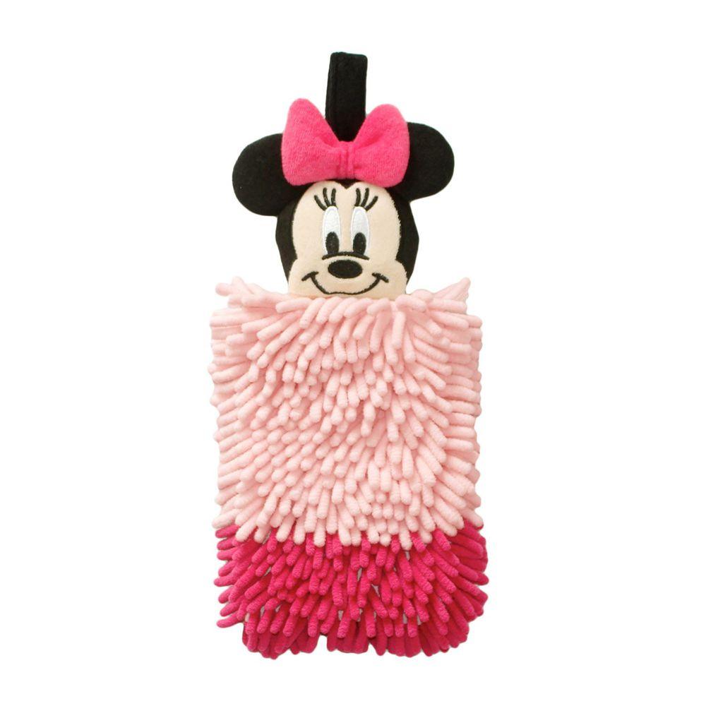 日本千趣會 - 迪士尼 擦手巾-米妮-粉紅 (16x38.5x4cm)