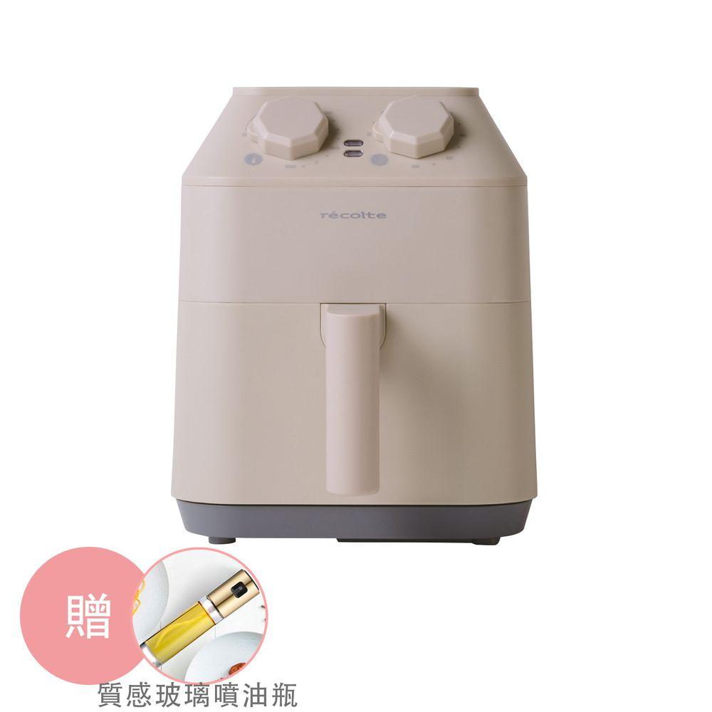 麗克特 recolte - Air Oven 氣炸鍋(限量贈送質感玻璃噴油瓶,價值$990)-白