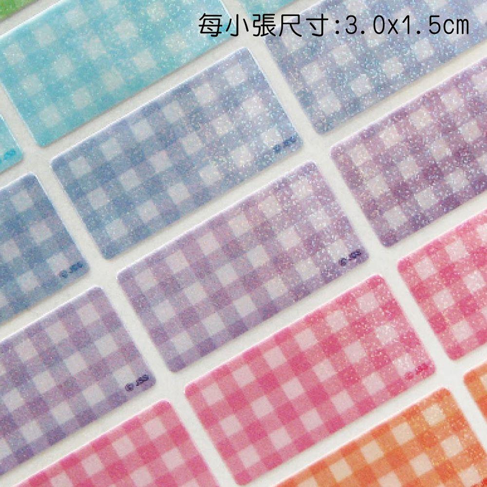 吉祥刻印 - 韓風格紋粉色系閃亮亮鑽石貼紙-1.5x3cm(每份150小張)