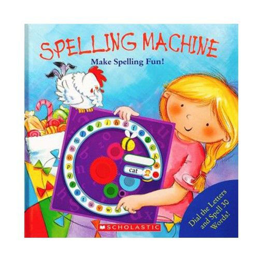 Spelling Machine 拼字機器 (操作書)