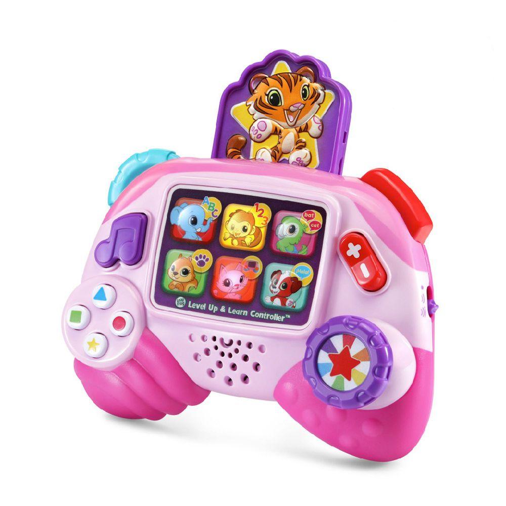 LeapFrog美國跳跳蛙 - 動物遊戲機-粉色