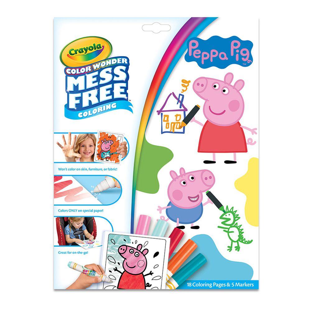 Crayola繪兒樂 - 神彩著色套裝-佩佩豬(紙盒)