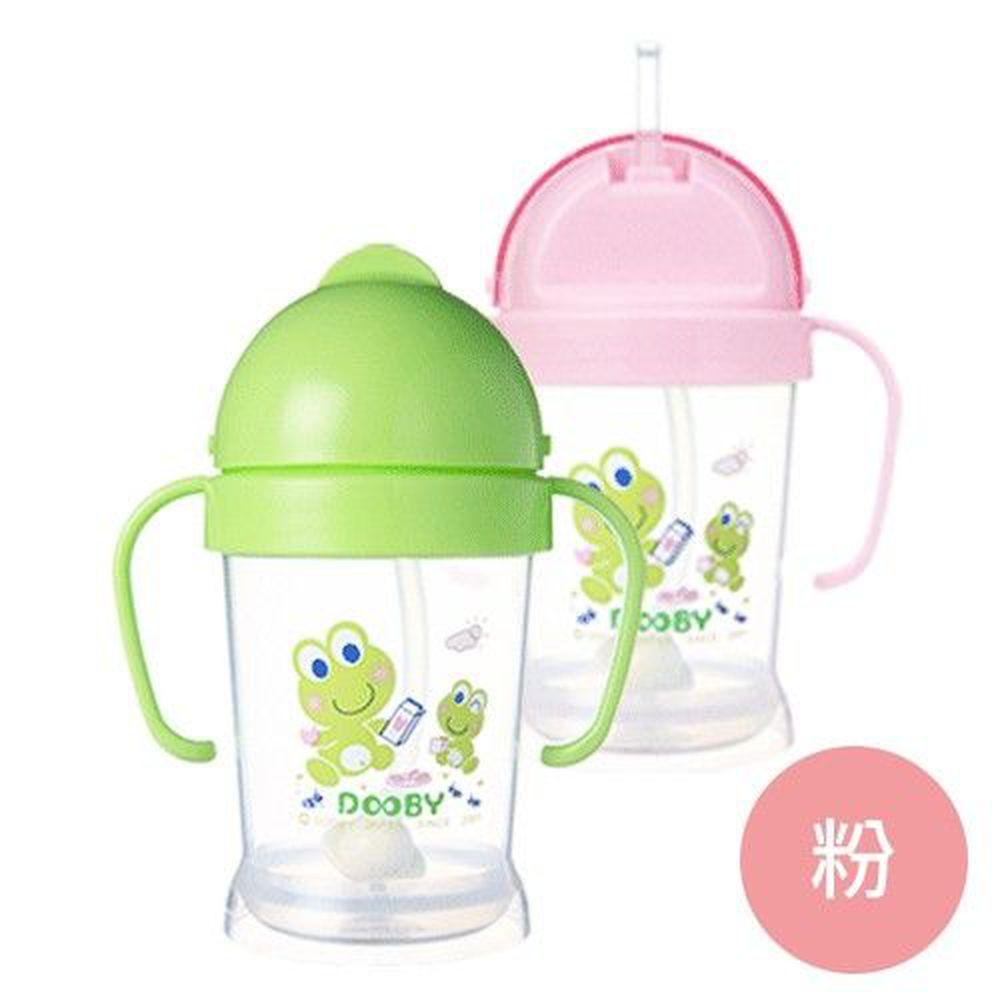 DOOBY 大眼蛙 - 神奇喝水杯-粉色 (200mL-8個月起)