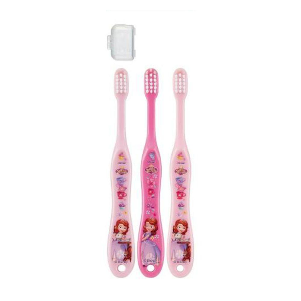 Skater 兒童牙刷 (3-5歲)-蘇菲亞-紫.桃.粉-3入