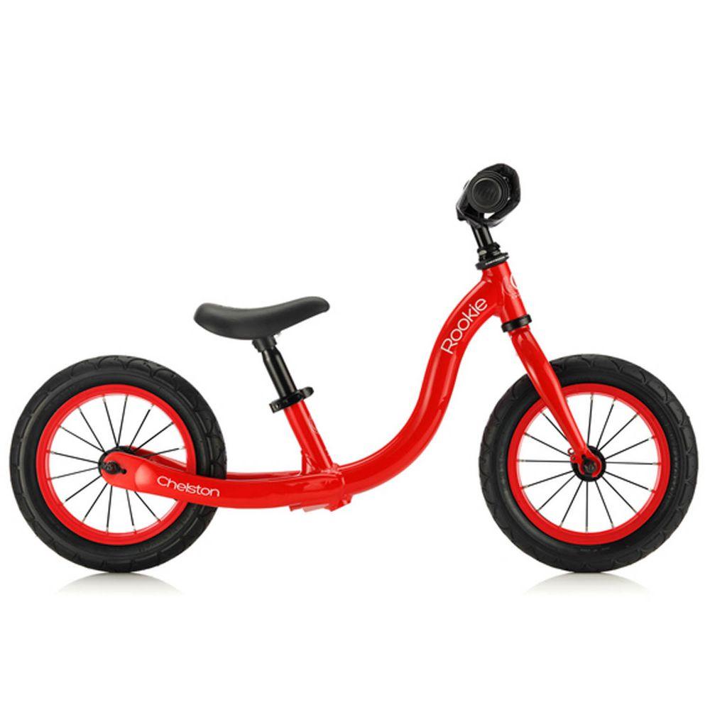 Chelston bikes - Rookie 平衡滑步車-經典紅-平衡滑步車 x 1 , 3 歲以下專用ABS氣嘴蓋 x 1