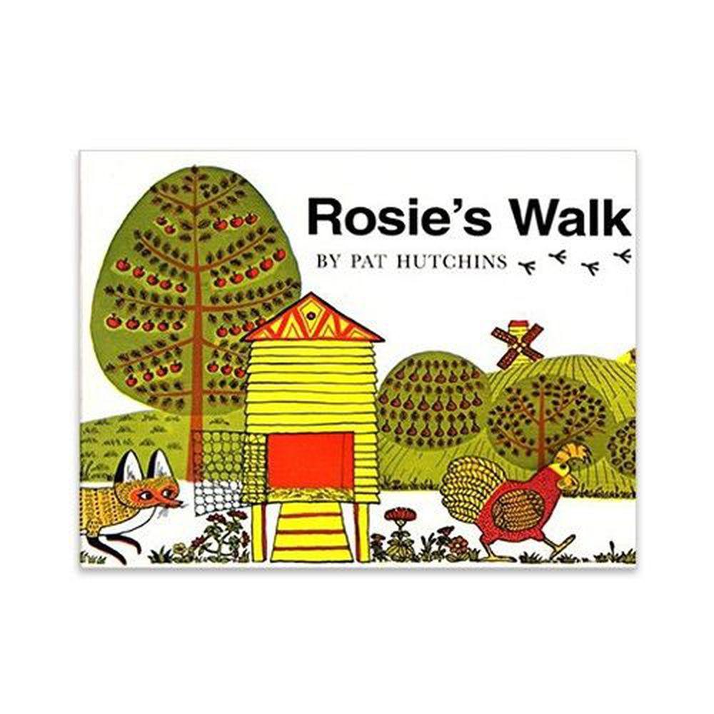 麥克兒童外文書店 - 有聲書-ROSIES WALK/BK+CD