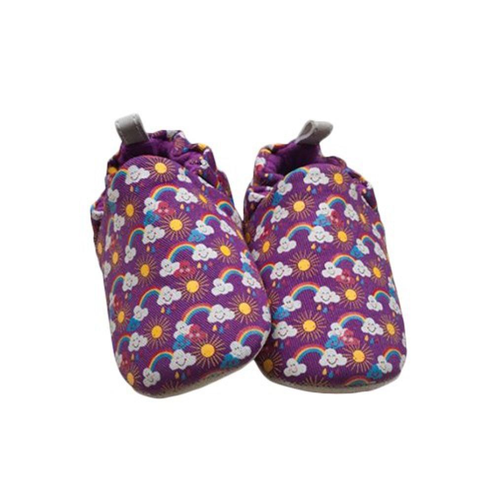 英國 Poconido - 寶寶手工鞋/學步鞋-小小彩虹