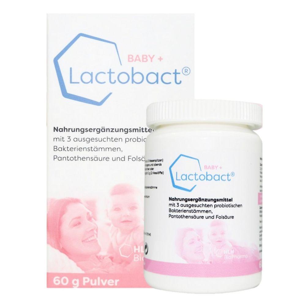Lactobact® 德國萊德寶 - Lactobact® BABY+ 萊德寶幼兒配方粉狀益生菌(0-8歲幼兒專用)-60g/盒