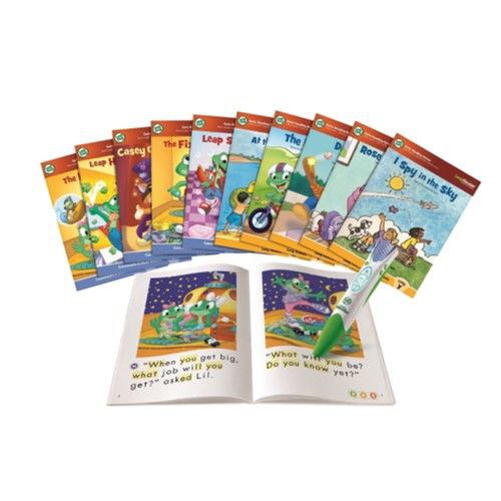 LeapFrog美國跳跳蛙 - 全英電子閱讀筆初級學習閱讀組合(含十本書)