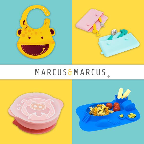 耐200度高溫消毒【MARCUS&MARCUS】最Q吃飯好物!