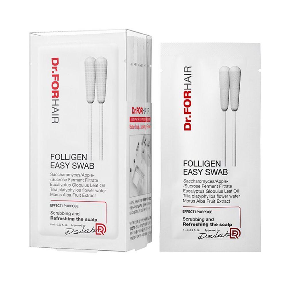 韓國 Dr.forhair - 頭皮清潔棉花棒-6ml 10入裝