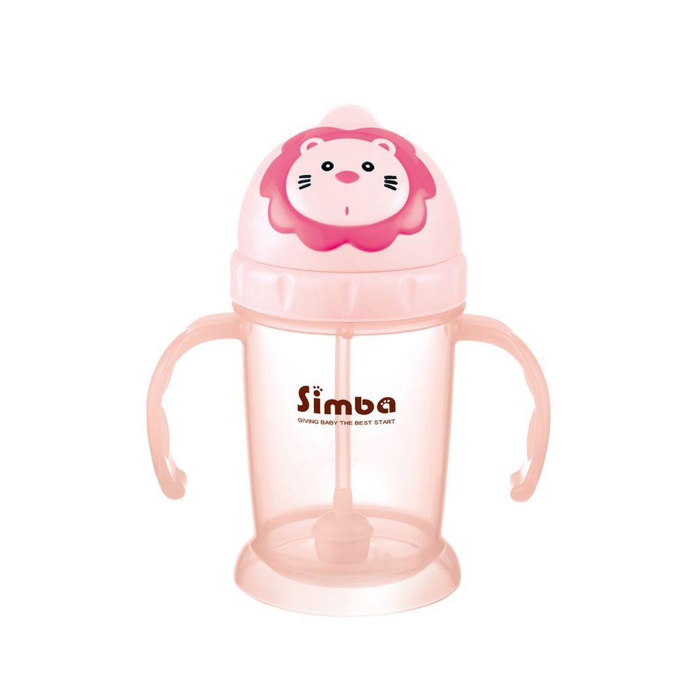 Simba 小獅王辛巴 - 辛巴滑蓋樂活杯-莓果(粉色)