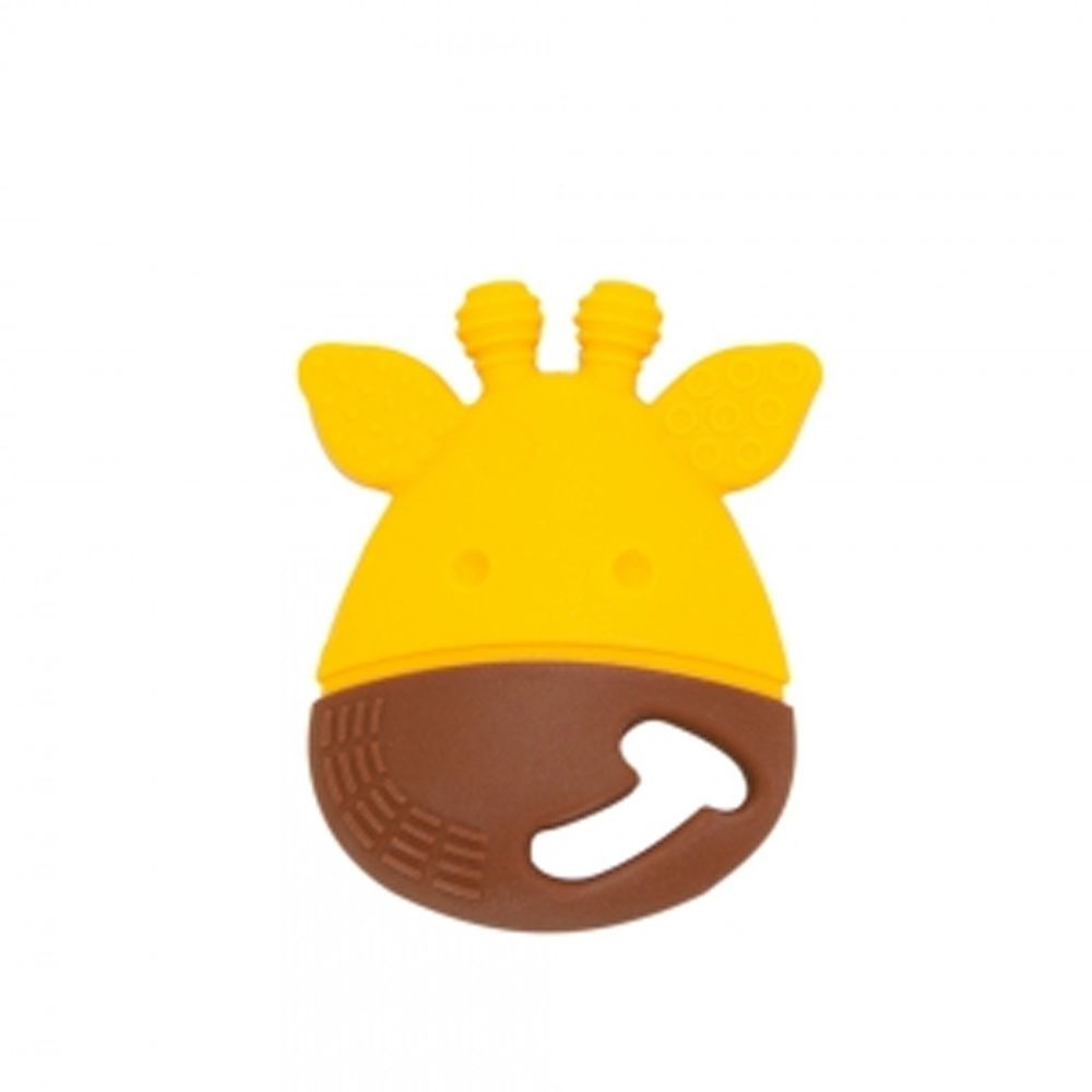 MARCUS&MARCUS - 動物樂園感官啟發固齒玩具-黃長頸鹿