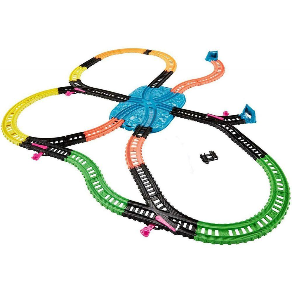 Thomas&Friends 湯瑪士小火車 - 湯瑪士小火車桶裝夜光軌道組