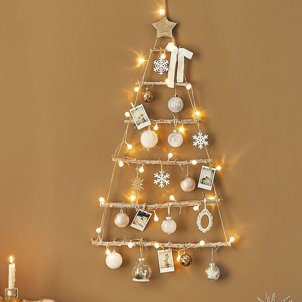 韓國 - 聖誕樹/聖誕壁飾燈-白雪童話 (樹高80cm,樹寬68cm)