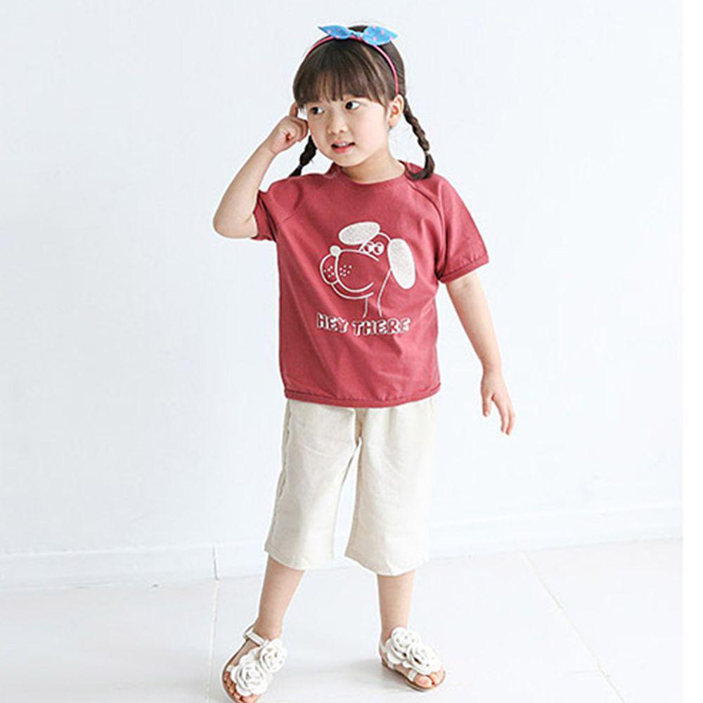 韓國 Rainbowkids - 純棉套裝-Dog