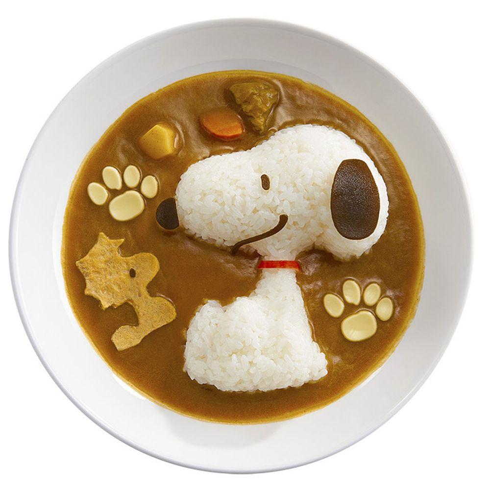 日本 OSK - 日本製米飯模具組-Snoopy 史努比