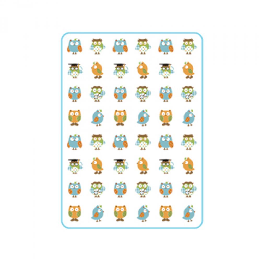 babyan - 防水尿墊-貓頭鷹 (中 (90x65cm))