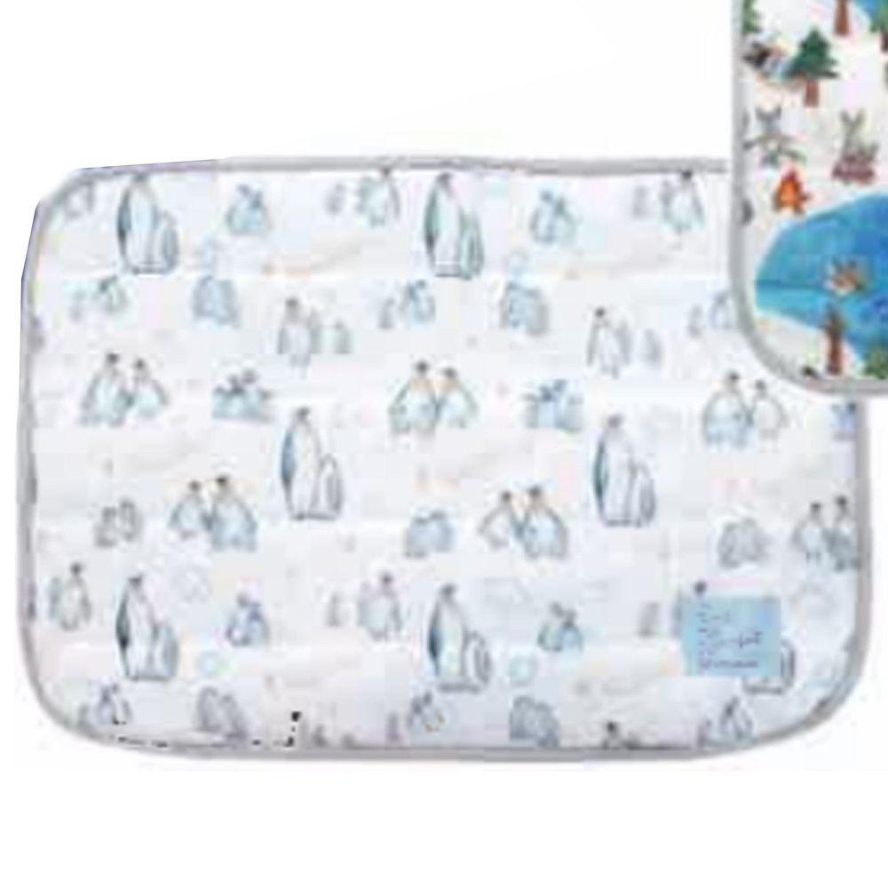 日本 DAIKAI - 夏日涼感毯-企鵝家族 (80x60cm)